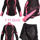 Ladies Motorbike Motorcycle Armoured Textile Cordura Waterproof Jacket