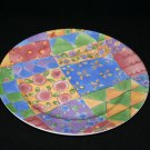 """Sweet Shoppe by Sango Sweet Biscuit #0916 Watercolor Dinner plate 12 1/2"""""""