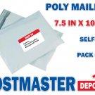 30 Poly Mailers, 7.5 in x 10.5 in, Polyair Fastpak Envelope, Polyethylene Bags