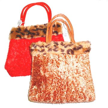 Animal Fur Purse