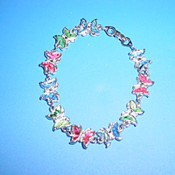 Butterfly Paua Shell Bracelet