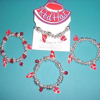 Red Hat Charm Bracelet