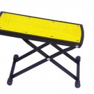 Guitar Foot Rest, Height Adjustable Guitar Footstools/Folding Footstool,Pedal (Yellow)