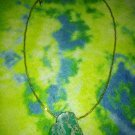 Green Jasper stone necklace