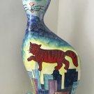 Turov Hand Painted Cat