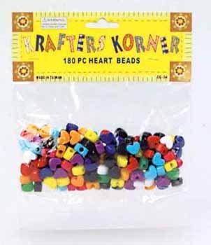Wholesale Heart Craft Beads