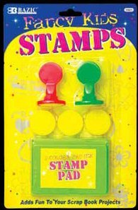Wholesale BAZIC 5 Fancy Kid's Stamp