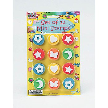 Wholesale 12 Pack Mini Stamps