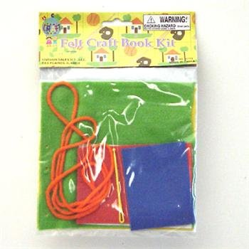 Wholesale 3 asst Felt Craft Book Kit