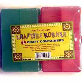 Wholesale 2 Pack Craft Container