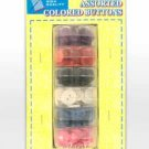 Wholesale 6ASST COLORS BUTTON ACCNT
