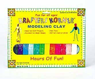 Wholesale Modeling Clay - 12 Colors