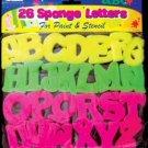 Wholesale BAZIC Sponge Letters