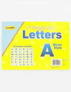 Wholesale Punch Out Letters Blue