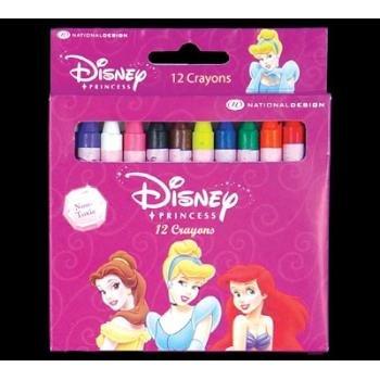 Wholesale DISNEY PRINCESS 12 Color Crayon