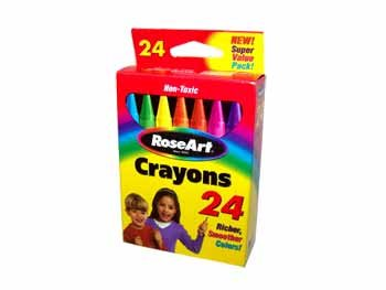 Wholesale Roseart Crayons