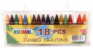 Wholesale Crayons Jumbo 18Ct