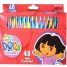 NEW! Wholesale Dora 48pk Mini Crayon in Window Box