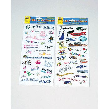 Wholesale Scrapbooking Occasion Stickers