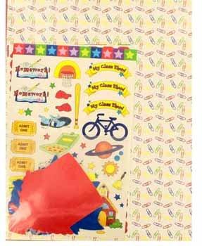 Wholesale School Scrapbook Kit