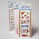 Wholesale Scrapbook Stickers with Glitter Borders & Frames