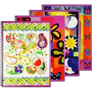 Wholesale It's A Girl Thing 60 Ct. Spiral Themebook