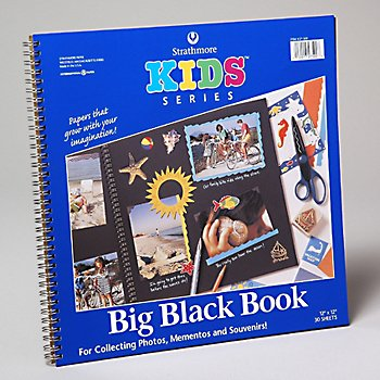 Wholesale Kids Series Big Black Book