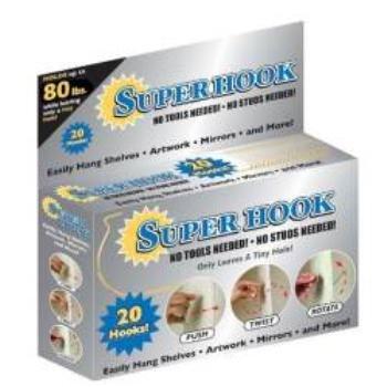 NEW! Wholesale Super Hook 20 Piece Set