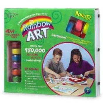 NEW! Wholesale Rainbow Art Kit With Bonus Colors