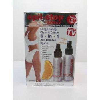 NEW! Wholesale Epil-Stop & Spray Hair Removal System