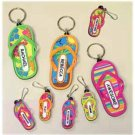 Wholesale Flip Flop Keyrings 72 Assorted Styles