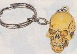 "Wholesale 1"" Skull Head Keychains"