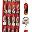 NEW! Wholesale Cars Tin Box Key Ring in Display