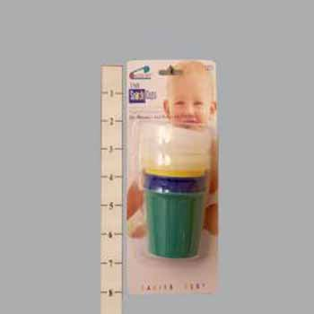 Wholesale 3 Pack Snack Cups