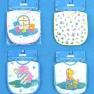 Wholesale Terry Cloth Bib W/Velcro Closure Asst Designs