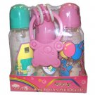 Wholesale 4 Piece Bottle/keys Baby Gift Set Asst Colors