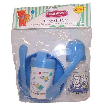 Wholesale 5 Piece Baby Gift Set Asst Colors
