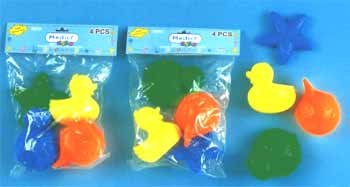 Wholesale 4 Pk Floating Bath Toys