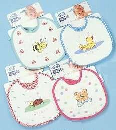 Wholesale Assorted Terry Cotton Bibs