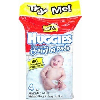 Wholesale Huggies Changing Pads. 4 Count