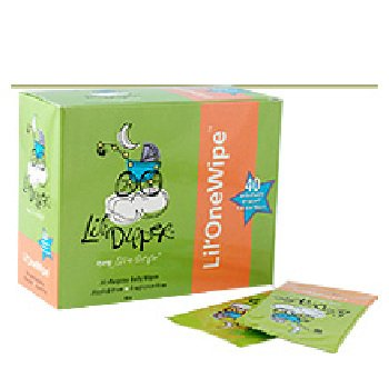 Wholesale Lil'OneWipes - As featured in US Weekly! 40 Wipes