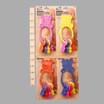 Wholesale Bunny Teether Keys