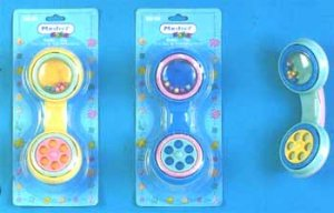Wholesale Phone Shaped Rattle Assorted Colors