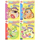 NEW! Wholesale Fun Face Stickers Fun Book