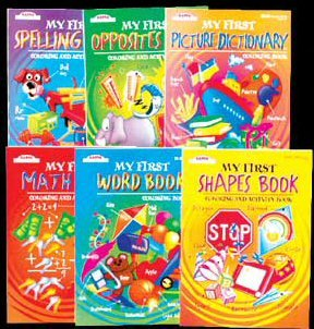 Wholesale KAPPA Assorted My First Series Activity Book