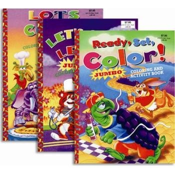 Wholesale Super Jumbo Coloring & Activity Book