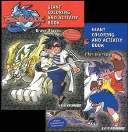 Wholesale BEYBLADE Giant Coloring & Activity Book