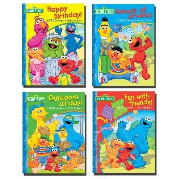 Wholesale SESAME STREET JUMBO Coloring & activity book