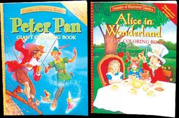 Wholesale Assorted Classic Children Story Coloring Book