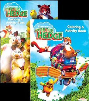 Wholesale OVER THE HEDGE Coloring & Activity Book